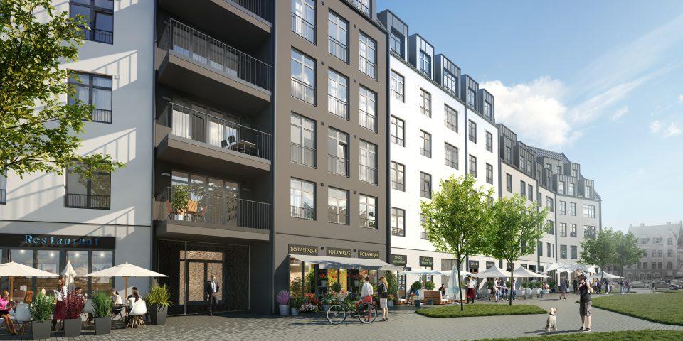 Vastint Latvia project: Magdelenas kvartals residential building Antonijas 17A